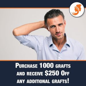 Purchase 1000 Grafts and Receive $250 Off any Additional Grafts!