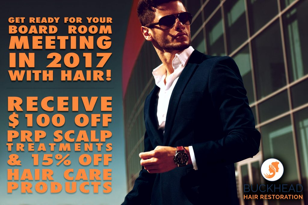 Hair Loss Solutions by Dr. Monte Slater in Atlanta!