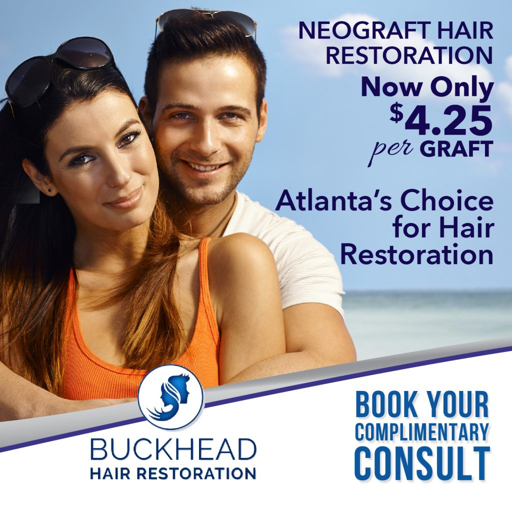 Buckhead Hair Restoration is Atlanta's Hair Restoration Clinic - Medical Director Dr. Monte Slater - ATL Hair Clinic is Atlanta's Choice for Hair Restoration