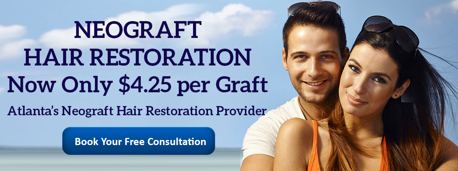 Neograft Hair Restoration Now Only $4.25 per graft