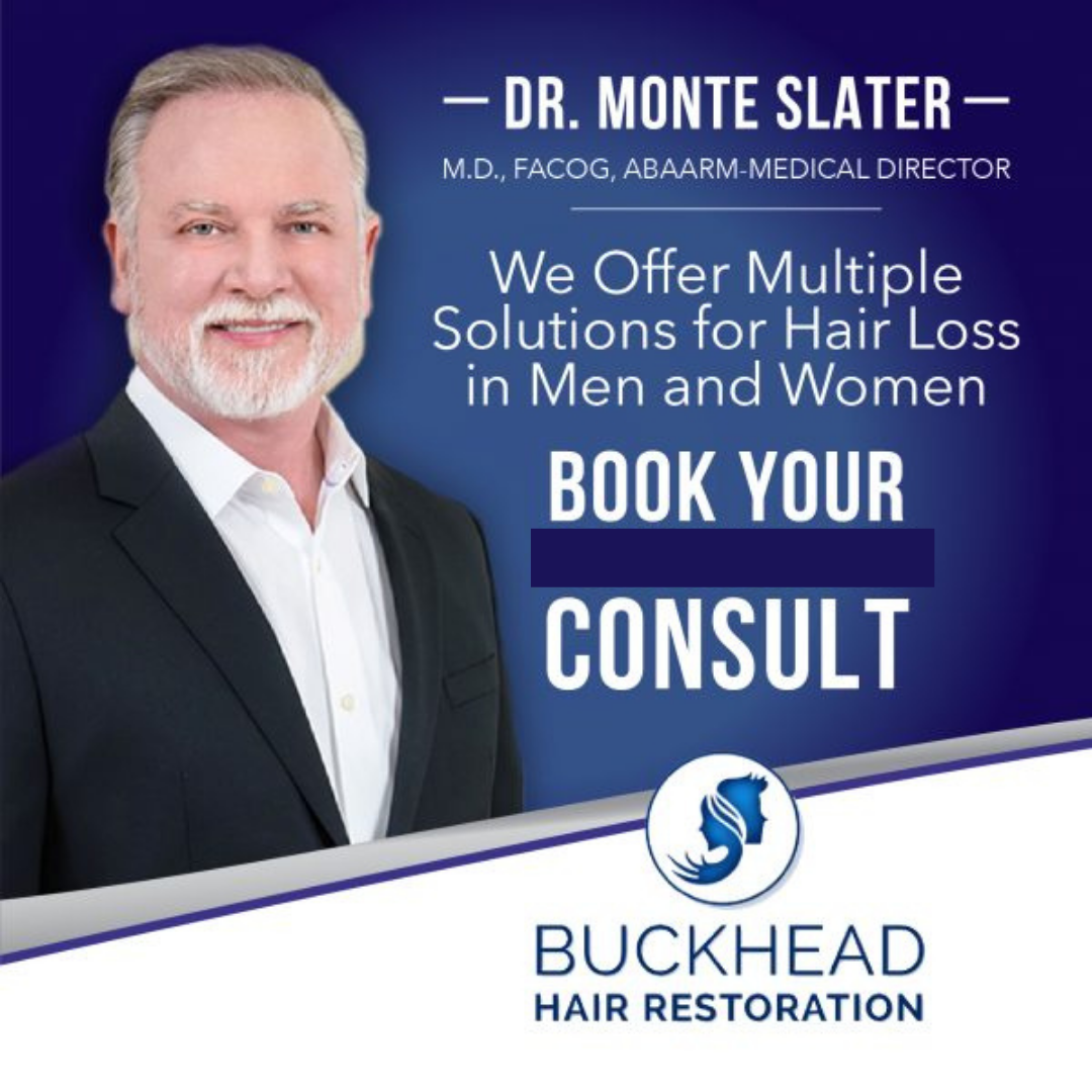 Book your Hair Loss Solution hair Consultation with Dr. Monte Slater
