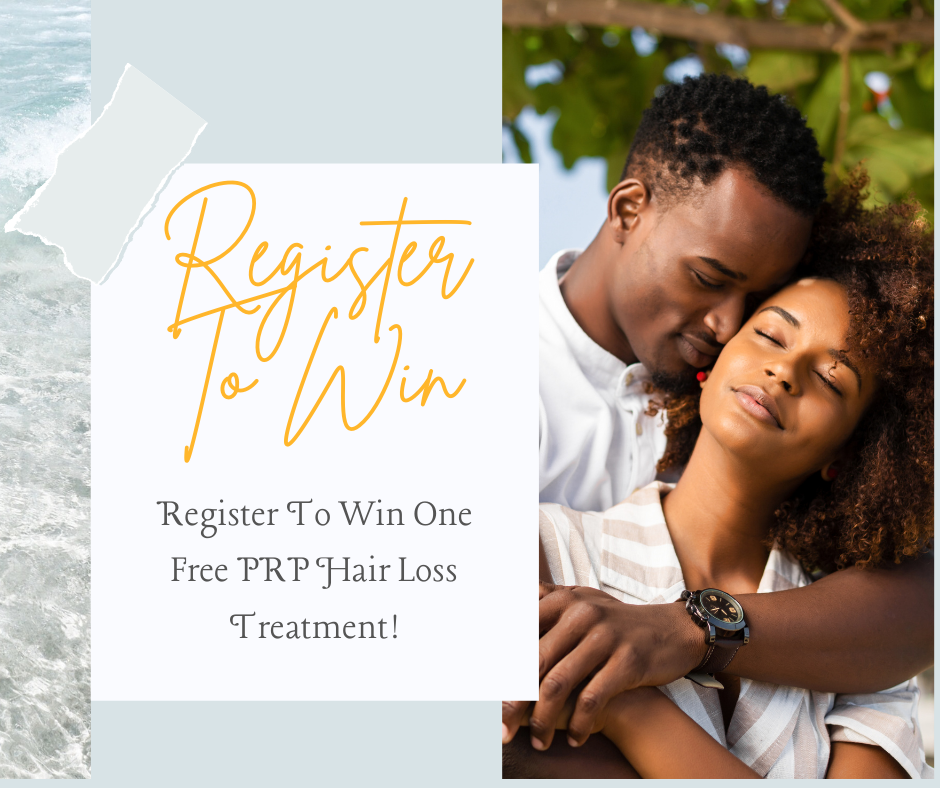 Register To Win A Free PRP Scalp Treatment
